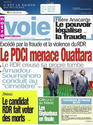 Fraudes massives à Zikisso - Le maire sortant fait voter des morts