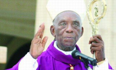 Télégramme de condoléances du Pape François