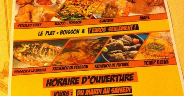 Restaurant Afro Goût Chez Agathe Ouaga à Angers Zikisso