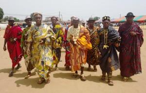 La marche des Chefs ! Image : Loblégnon Djahi Séraphin