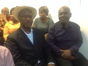 Le président GNADOU & le promotteur de développement GAÉ Maurice