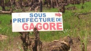 Pancarte Gagoré
