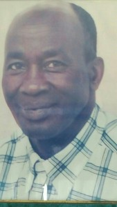 Monsieur OHIA Jérôme décédé à Marseille 1957 -2015