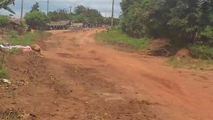 Route Principale Djidji Carefour Godiéko