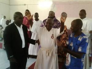 Jubilé de Gnégbré Danon Christophe à la paroisse de Zikisso, le dimanche 20 décembre 2015