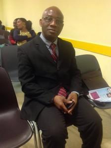 Le président Djago Jean-Baptiste dit Gato Jean
