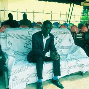 ABALE LUCIEN à la fête de l'indépendance à Gagoré.