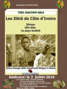 LES ZIKIE DE CÔTE D'IVOIRE