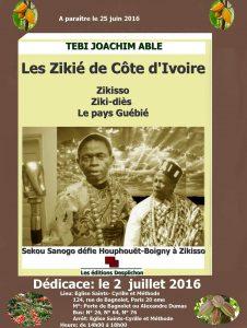 Les Zikié de France.