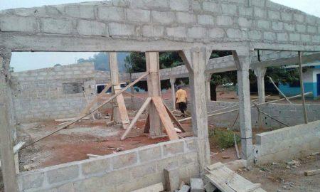 J'ai omis de dire qu'il s'agit de la construction du préau et le cabinet médical du DISPENSAIRE de la Sous-Préfecture de DJIDJI. à bientôt
