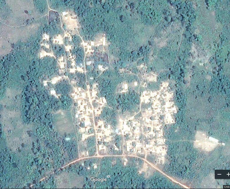 Carte de Bessaboua – Sous-préfecture de Djidji