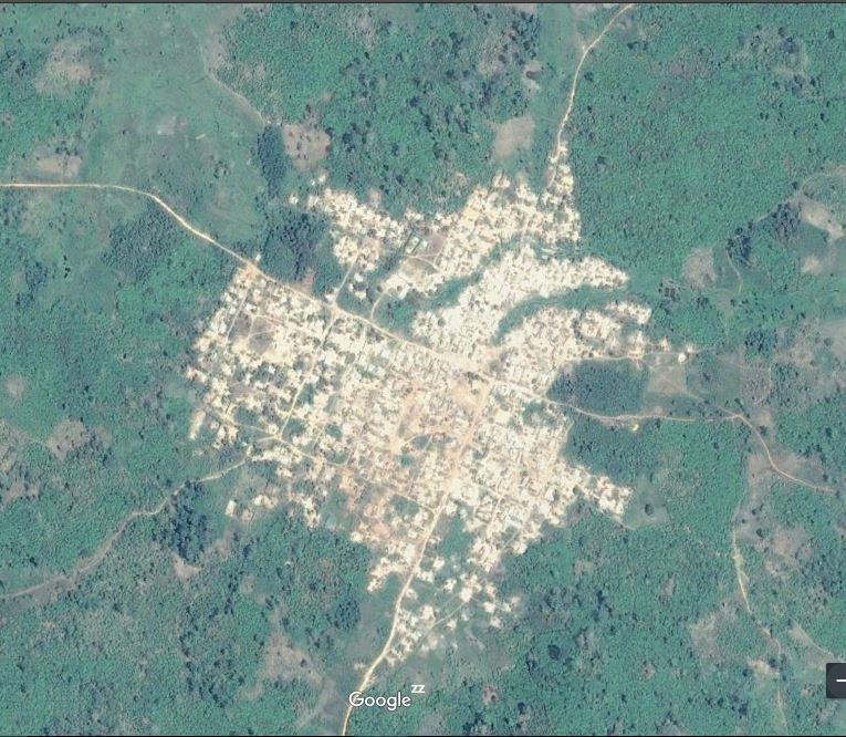 Carte de Brihiri – sous-préfecture de Gagoré