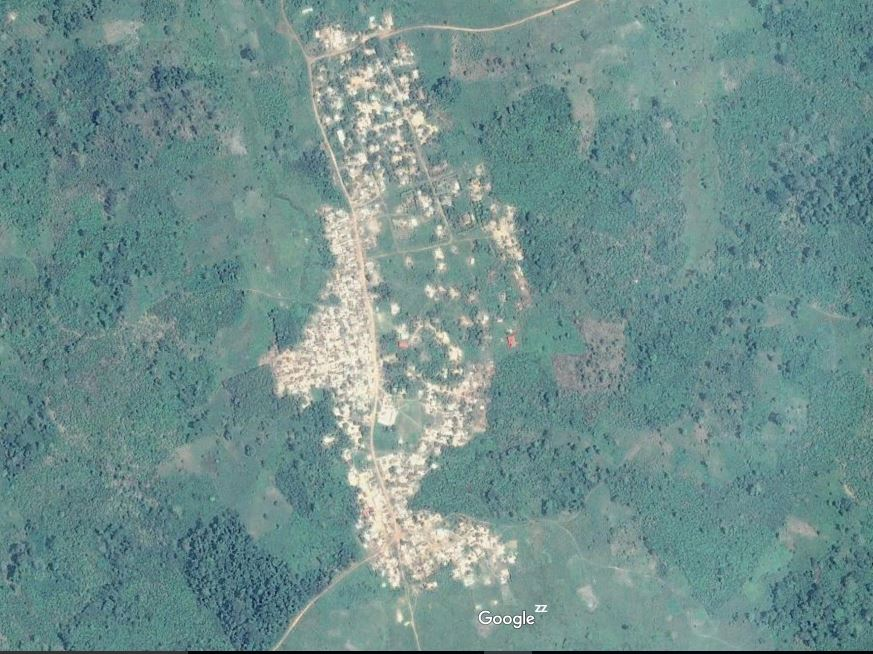 Carte de Digako – sous-préfecture de Gagoré