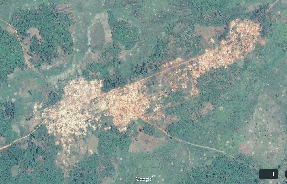 Carte de Kadéko – sous-préfecture de Gagoré