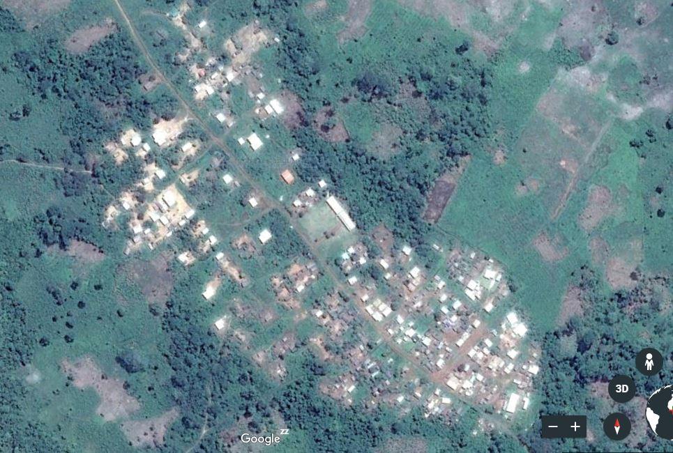 Carte de Niablé – sous-préfecture de Djidji